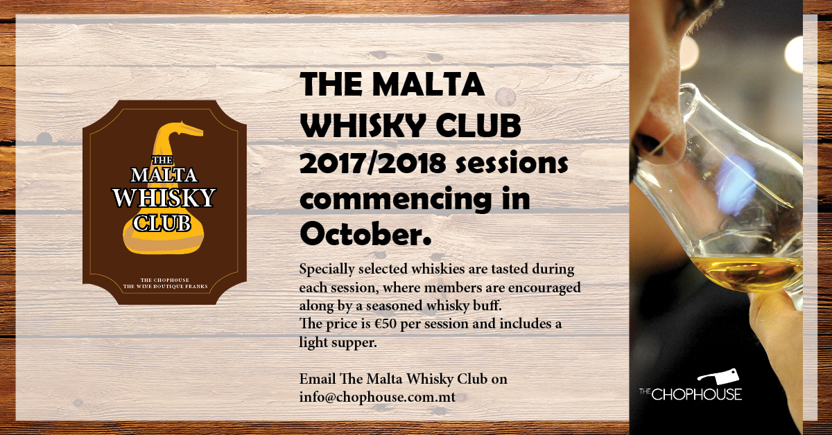 The Malta Whisky Club 2017